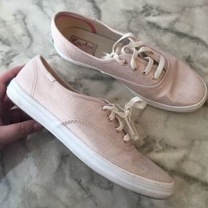 Rose gold ked sneakers